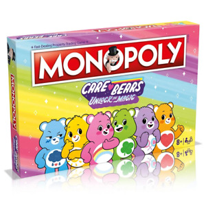 Monopoly Care Bears Edition Board Game NEW