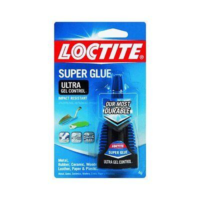 Henkel-Loctite 1363589 4 Gram Super Glue Ultra Gel Control, Clear (4-Pack)