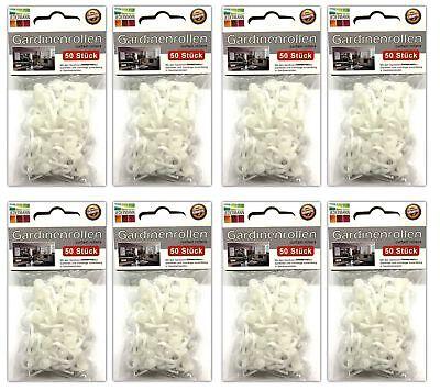 WunderschöNen 400 Stück Gardinenhalter Kräusel/faltenbändern | Gardinenröllchen Gardinenhaken