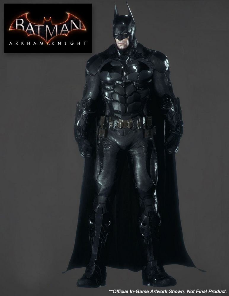 STATUA BATMAN THE ARKHAM KNIGHT DARK 46 CM 1/4 DC COMICS FIGURE STATUE STATUA  2