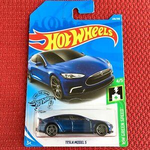 Hot-Wheels-Mattel-Tesla-Model-S-Car-Toy-Brand-NEW