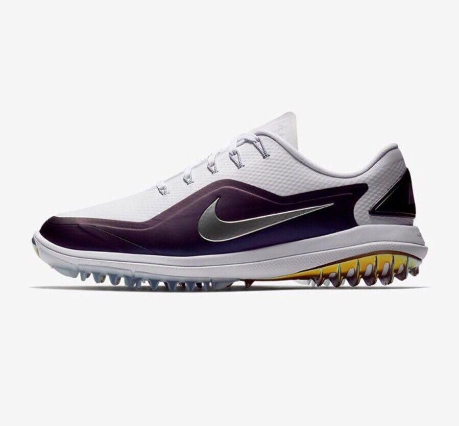 Nike lunar metallic kontrolle vapor 2 golfschuhe sz 11,5 e metallic lunar - silber 899633-103 15c018