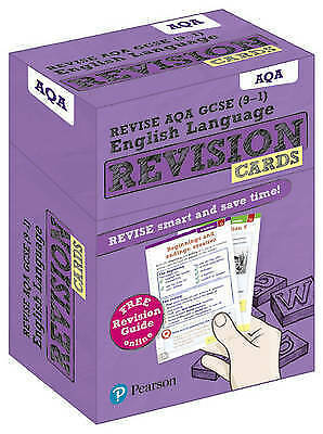 Revise AQA GCSE (9-1) English Language Revision Cards. with free online Revision
