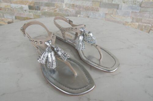 argento 490 Scarpe Sandali 35 Uvp Toe quarzo € 5 Form Prada New nappa Gr aqXwx007
