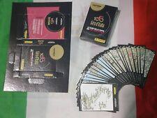 Giro d'Italia 100 panini set completo 22 CARD PERCORSO con scatolina componibile