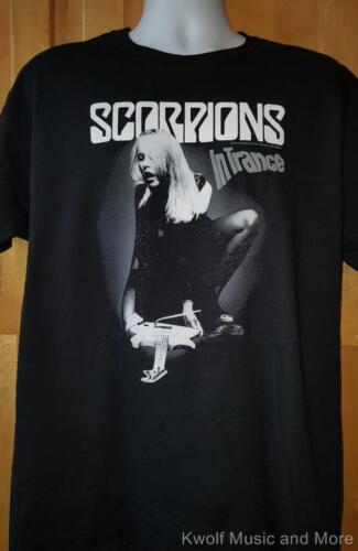 "SCORPIONS T-Shirt ""In Trance"" Official/Licensed S, M, L, XL, 2X NEW"
