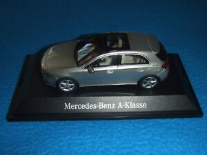 Mercedes-Benz-W-177-A-Class-2018-Mojawe-Silver-1-43-New-Boxed