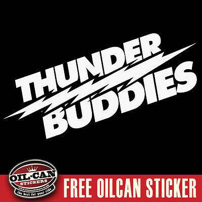 Thunder buddies sticker ted vw euro sticker jdm 290 x 90mm
