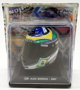 ALTAYA SCALA 1/5 modello GC024-CASCO MOTOGP ALEX BARROS 2007