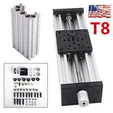 3d Printer Z Axis Lead Screw T8 Diy C Beam Cnc Sliding Table 150mm Linear Kit