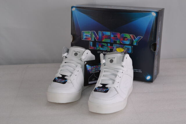 f6fc42a401a22f Skechers Kids Boys Energy Lights Sneaker White 3 M US Little Kid for ...