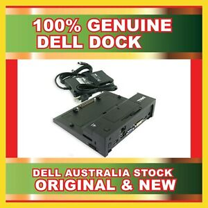 New Dell PR03X For E6500 E6510 E6520 E-Port II USB 3.0 Docking Station + 130W AC