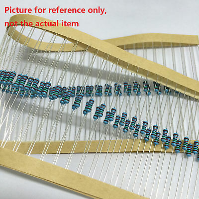 200Pcs//Pack 1ohm-10M ohm 1//4w Resistance 1/%  Resistors 1//4W Metal Film NEW