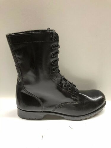 black leather army/work boots size 11.5