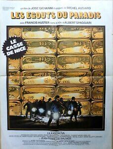 Plakat Kino Film Les Kanalisation Du Paradise Jose Giovanni - 60 X 80 CM