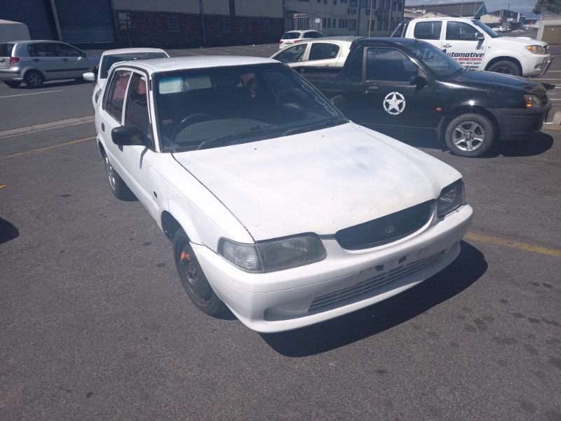 Toyota tazz 1.3 stripping for parts
