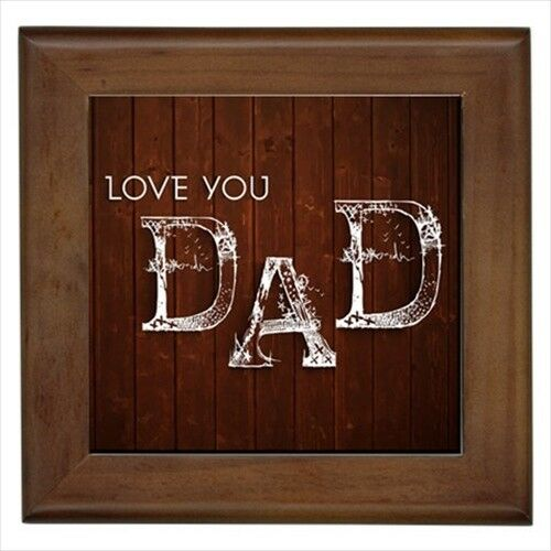 Happy Father/'s Day Wall Tile Art Home Decor