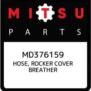 MD376159-Mitsubishi-Hose-rocker-cover-breather-MD376159-New-Genuine-OEM-Part