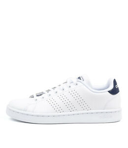New-Adidas-Neo-Advantage-White-Blue-Mens-Shoes-Casual-Sneakers-Casual