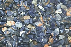 1-4-LB-Sunset-Sodalite-Chips-Tumbled-Stones-6-10mm-Opens-Third-Eye-Reiki-Crystal