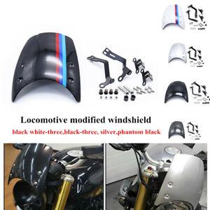 Motorcycle Bike Front Headlights Windshield Windscreen Kit Fit For BMW 2014-2019
