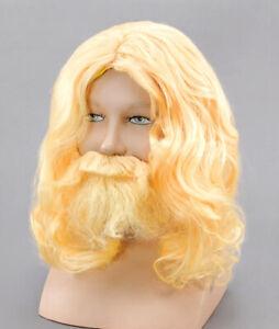 Adult Mens Blonde Greek God Poseidon Zeus Fancy Dress ...