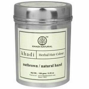 Khadi-Natural-Herbal-Hair-Colour-Nut-Brown-150-g-Free-Shipping