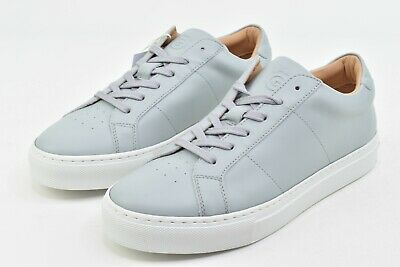 Greats The Royale Harbor Mist Womens 8 Shoes Leather Italy New White Sneakers