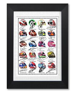 F1-FORMULA-ONE-2019-ALL-DRIVERS-TEAMS-1-SIGNED-POSTER-PRINT-PHOTO-AUTOGRAPH-GIFT