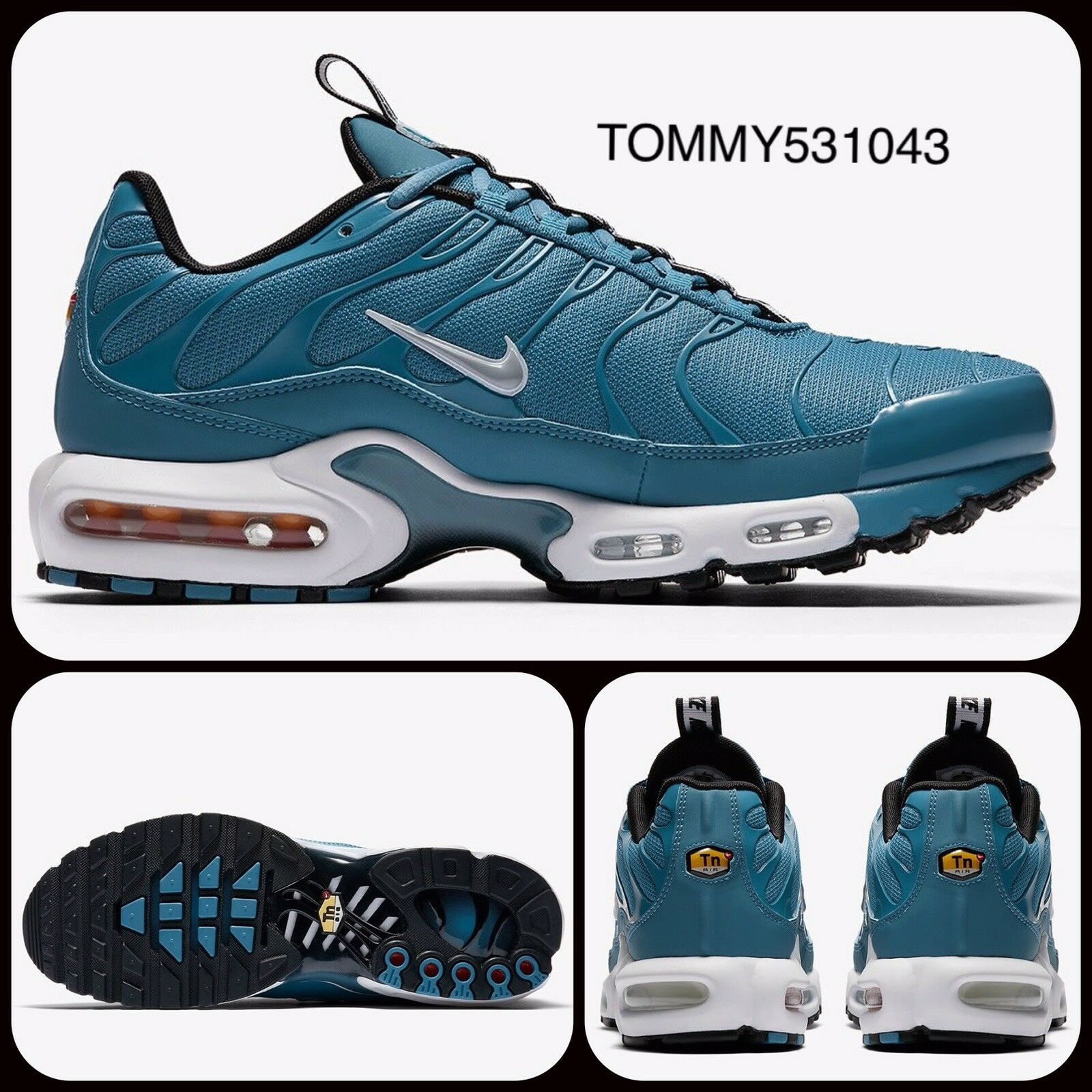 Nike Air Max Plus TN SE Pull-Tab Pack   UK 10 EU 45 US 11   AQ4128-400