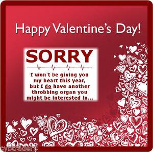 Funny Valentines Gift Card Insert Refrigerator Tool Box Locker