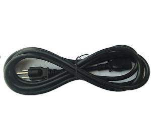 15ft 18 AWG SJT Universal Power Cord for computer printer Black UL 10-PK BYBON