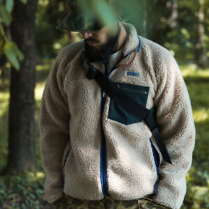 Bronson-Sherpa-Fleece-Jacket-Classic-Retro-1989-Outdoor-Full-Zip-Up-Cardigan
