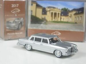 Restbestaende-Wiking-C-amp-I-Sondermodell-Mercedes-600-silber