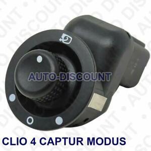 Bouton interrupteur reglage retroviseur pour RENAULT CLIO 4  CAPTUR   MODUS