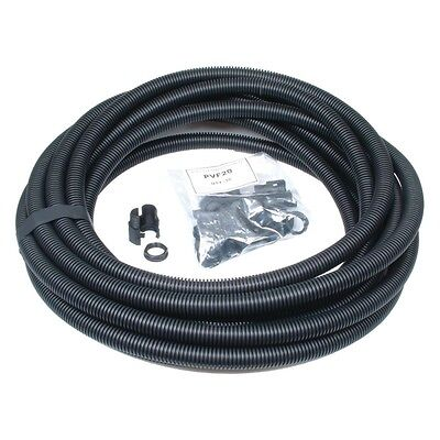 25mm 10M Black Flexible Conduit Cable Sleeving Tube Contractor Pack (Copex)
