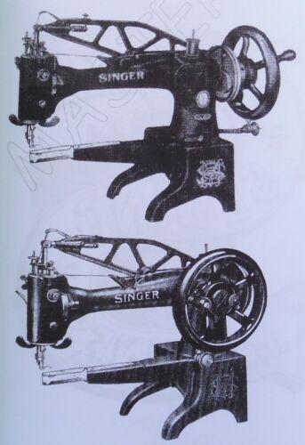 Singer 29k machine à coudre service Instructions Manuel livret