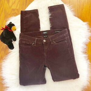 BDG-Urban-Outfitters-Jeans-Corduroy-Mid-rise-Cigarette-Ankle-Wine-26-W-30-L