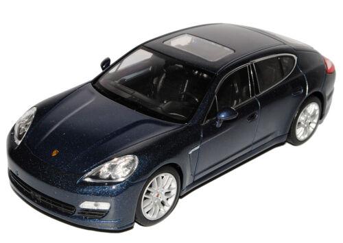 Porsche Panamera S Blau Ab 2009 1//24 Welly Modell Auto mit oder ohne individiuel