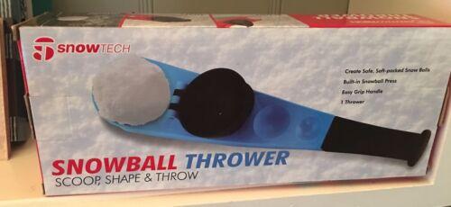 Blue Left SnowTech SnowBall Thrower