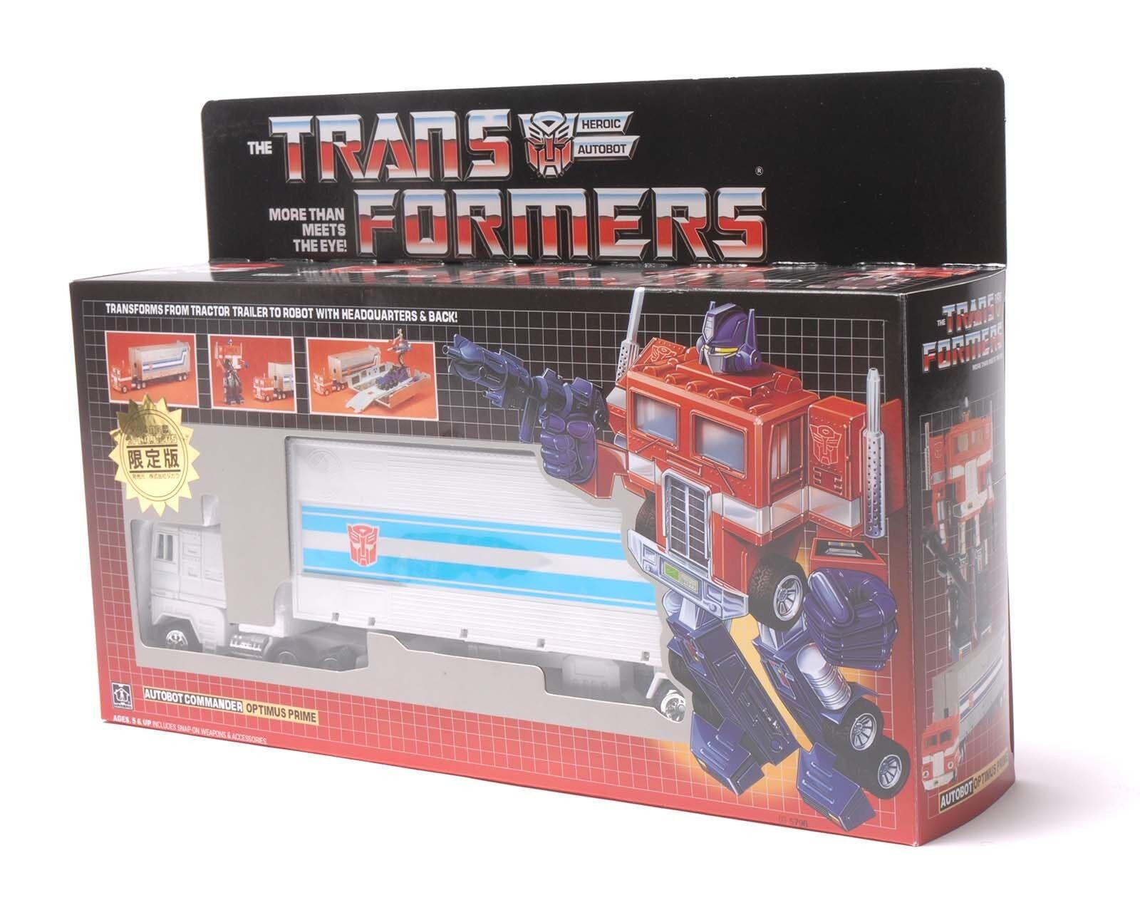 Optimus Prime g1 Collection reissue  bianco Autobot Regali Nuovo  economico