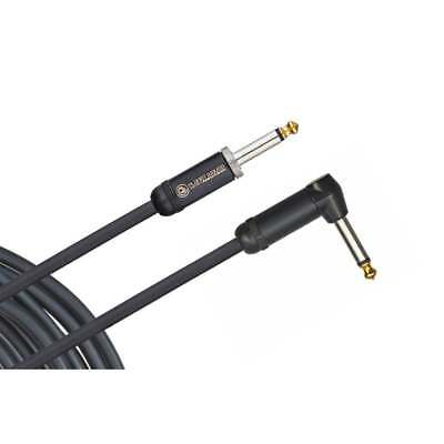 D'addario American Stage Instrument Cable, Right To Straight, 10 Feet