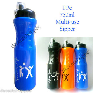 Best quality water bottle - Multi-use SIPPER cum SHAKER -750ml. Travel and Gym