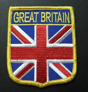 GREAT BRITAIN BRITISH UNITED KINGDOM ENGLISH UK SHIELD PATCH 2.5 X 3 INCHES