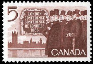 Canada-448-CANADIAN-DELEGATION-New-Original-1966-Pristine-Gum