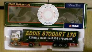 Corgi-76602-Scania-Box-Trailer-Eddie-Stobart-Ltd-Ed-No-0002-of-5000