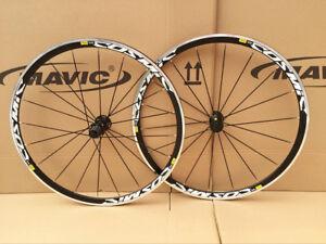 Mavic-Cosmic-Elite-Clincher-Road-Bike-700c-Front-amp-Rear-Wheels-Wheelset