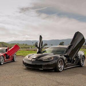 Lambo-Doors-Chevy-Corvette-C-6-2005-2013-Door-Conversion-kit-Vertical-Doors-Inc