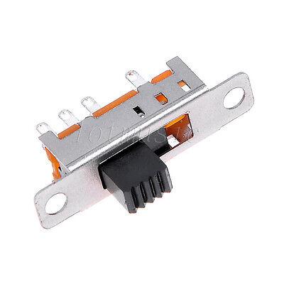 New hot 5pcs SS23E04-G5 3 Position 2P3T slide power switch