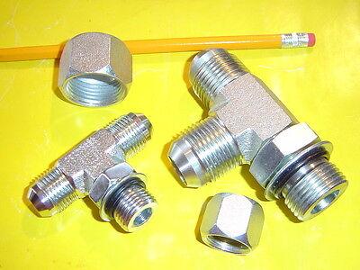"""John Deere 4020 3020 """"T"""" Fitting Kit to Add Extra Hydraulic Accessories (1 Kit)"""
